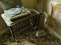 Found in an abandoned farmhouse in Cambridgeshire  Xander Webster
