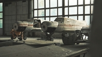 Found old Russian planes collection in abandoned hangar