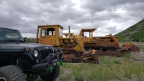 Found some old heavy equipment today while out and about