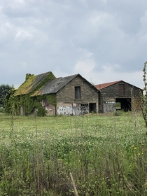 Found this aging garage barn in France Imgur link in comments