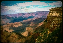 Found this in a stack of old family slides The Grand Canyon circa