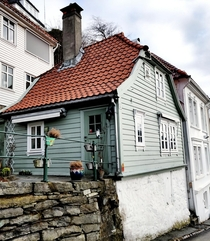 Found this little gem in my city Bergen Norway  I am guessing early to mid th century