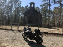 Found this old church in Francis Marion National Forest while riding really would like to know its history