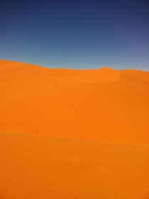 Found this picture back today I took it on our trip in Morocco in the Sahara Desert