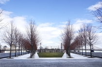 Four Freedoms Park Roosevelt Island NYC by Louis Kahn