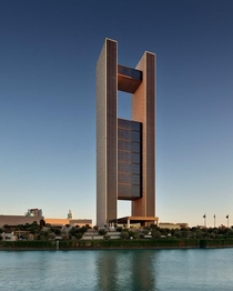 Four Seasons Hotel designed by Skidmore Owings and Merrill LLP SOM located in Manama Bahrain