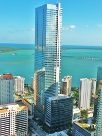 Four Seasons Hotel Miami Florida tallest building in the state