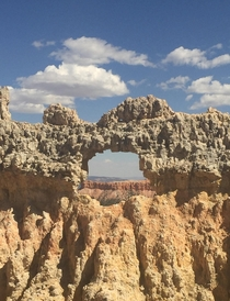 Frame Courtesy of Nature Bryce Canyon National Park Utah