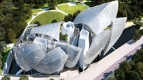 Frank Gehrys Fondation Louis Vuitton art museum in Paris opened in  and is now visited by over a million visitors every year