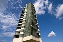 Frank Lloyd Wright designed Price Tower in Bartlesville Oklahoma