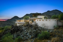 Frank Lloyd Wrights Circular Sun House in Arizona his last residential design