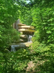 Frank Lloyd Wrights Fallingwater Mill Run Pennsylvania Currently offering self guided tours due to COVID I highly recommend making the trip