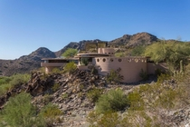 Frank Lloyd Wrights last house - the Norman Lykes House near Phoenix AZ