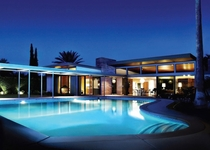 Frank Sinatra House Palm Springs CA USA E Stewart Williams