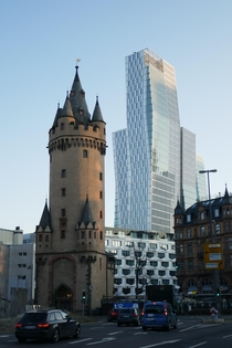 Frankfurt blend of old and new   x