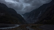 Franz Josef Glacier last night