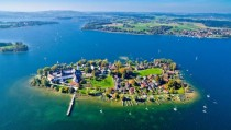 Frauenchiemsee in the Chiemsee Bavaria Germany