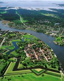 Fredrikstad Old Town Norway