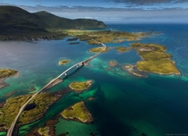 Fredvang Bridges Lofoten Islands