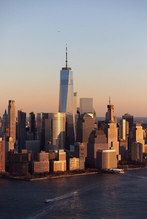 Freedom Tower from Above