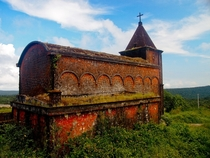 French Catholic church at Bokor National Park Kampot Cambodia