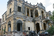 French colonial mansion in Phnom Penh Cambodia Built in in  Photo by Timothy Hallinan  Since been razed