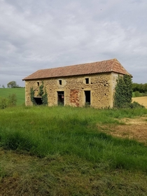 French farmhouse I saw while hiking through southern France