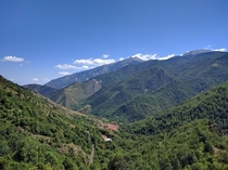 French Pyrenees near Py