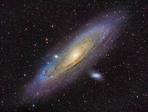 Fresh off the CCD my Andromeda Galaxy for the season