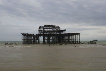 Friend and I paid a visit to the West Pier in Brighton England