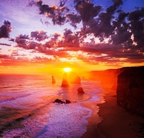 Friend took this epic picture of the  Apostles Great Ocean Road Australia