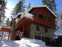 Friends cabin up in Tahoe