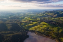 From above the Adelaide Hills Australia OC