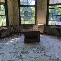 From an Old Hospital In Connecticut