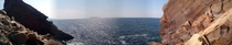From cape Breton Island Nova Scotia-Panorama-