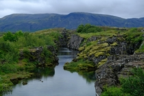 From my first day travelling through Iceland Thingvellir national park Iceland x