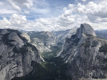From my trip to Yosemite last year The Half Done formation is on the right hand side
