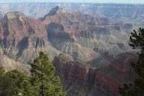 From North Rim Grand Canyon