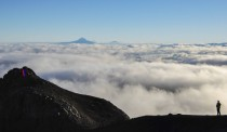 From one volcano to another Villarrica Chile