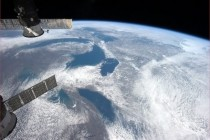 From Ontario to Superior The Great Lakes in mid-March as seen from Earth orbit by ISS astronaut Chris Hadfield