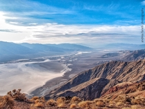 From the last floor of Purgatory to the lowest point in the states Dantes view Death Valley