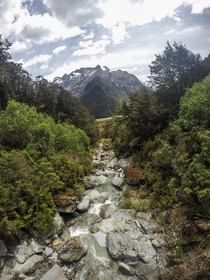 From the Routeburn Track New Zealand