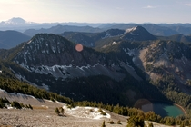 From the summit of Silver Peak South Cascades WA