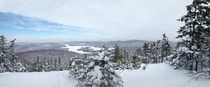From the top of Bald Mountain in Dedham ME Had to do some extra exploring to find this view