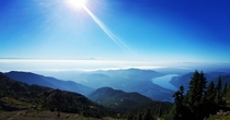 From the top of Mt Ellinor WA
