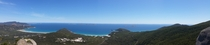 From the top over Mt Bishop Victoria Australia   x