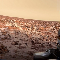 Frost at the Viking  landing site on Mars