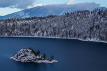 Frosty Fannette at Lake Tahoe CA