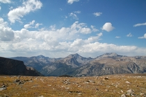 Frozen to Death Plateau in Montanas Beartooth Mountains  OC