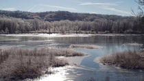 Frozen wonderland at Beaver Marsh Cuyahoga Valley National Park